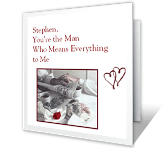 Everything to Me greeting card