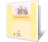 Extra-Special Day greeting card