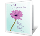 Following Your Dreams greeting card