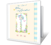 For a Special Mom and Grandma greeting card