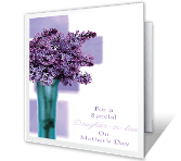 For Daughter-in-law greeting card