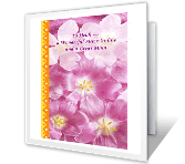 For Sister-in-Law greeting card