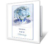 Friends Are Blessings greeting card