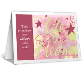 Gift of Faith greeting card