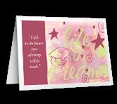 Gift of Faith greeting card