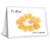 Girl's Confirmation greeting card