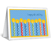 Go All Out greeting card