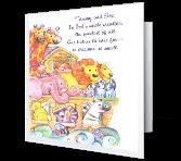God's Sweetest Creation greeting card