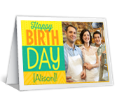 Group Effort Add-a-Photo greeting card