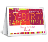 Happiest Day greeting card