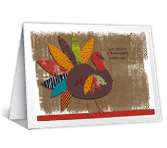 Happy Thanksgiving Day greeting card