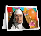 Heavenly Birthday greeting card