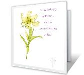 His Joy In Your Life greeting card
