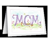 Honoring Mom greeting card