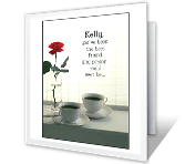 How Much Friendship Means greeting card