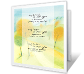 I'm With You greeting card