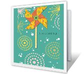 It's Your Day! greeting card
