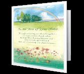 Loss of Sister greeting card