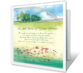 Loss of Sister greeting card