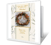 May You Feel Blessed greeting card