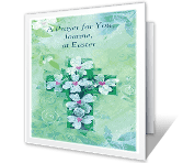 Miracle of Easter greeting card