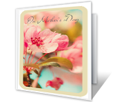 On Mother's Day greeting card