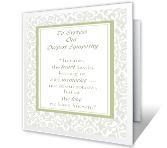 Our Deepest Sympathy greeting card