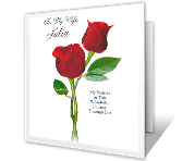 Partners in Life greeting card