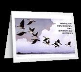 Prayer for Blessings greeting card