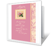 Pride for Daughter greeting card