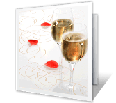A Toast to Us Anniversary Printable Cards