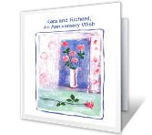 An Anniversary Wish Anniversary Printable Cards