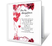 Our Future Together Anniversary Printable Cards. Our Future Together  Print Anniversary Card