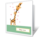 Baby Love Baby Printable Cards