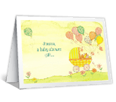 Gift for Little One Baby Shower Printable Cards