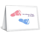 Shower for Mother-to-be Baby Shower Printable Cards