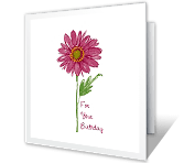A Short but Sweet Wish Birthday Printable Cards
