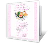 Another Year More Wonderful Birthday Printable Cards