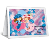 Berry Special Party Birthday Printable Cards