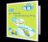 Birthday Boy Fun Birthday Printable Cards