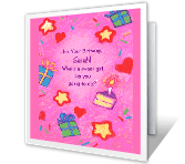 Celebrate! Birthday Printable Cards