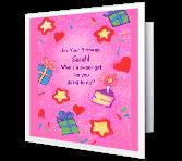 Celebrate! Birthday Printable Cards