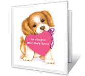 For a Special Daughter Birthday Printable Cards