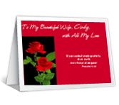 For My Wife Birthday Printable Cards