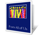 From All of Us Birthday Printable Cards
