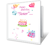 Happy Days Birthday Printable Cards