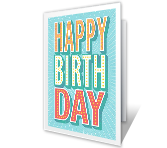 Happy Wishes Birthday Printable Cards