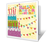 Happy Wishing Birthday Printable Cards