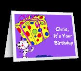 Have Fun Birthday Printable Cards
