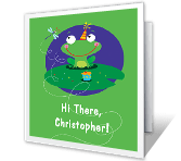Hop to It Birthday Printable Cards